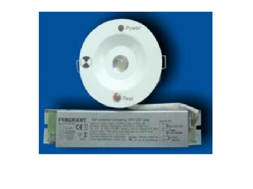 Đèn khẩn cấp âm trần bóng LED Paragon - PEMF3RC