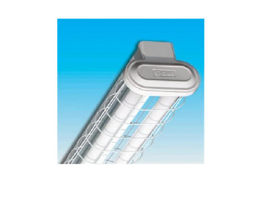 Bộ đèn huỳnh quang SINO có lưới thép bảo vệ - SWC