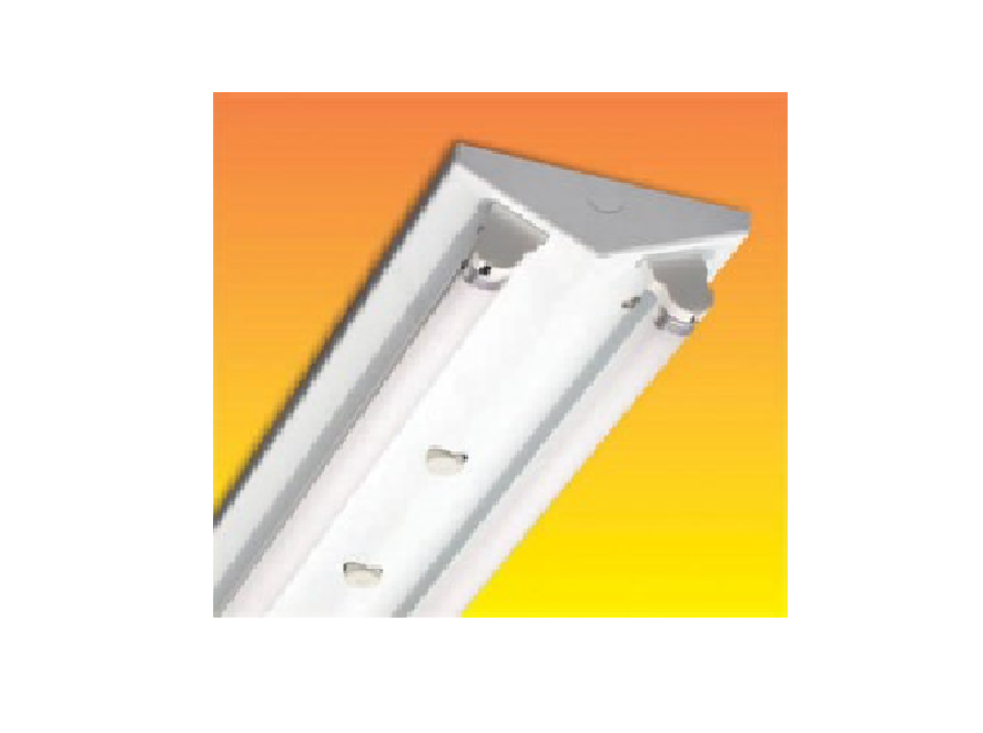 Bộ đèn chữ V có đui chống rung, chống bụi