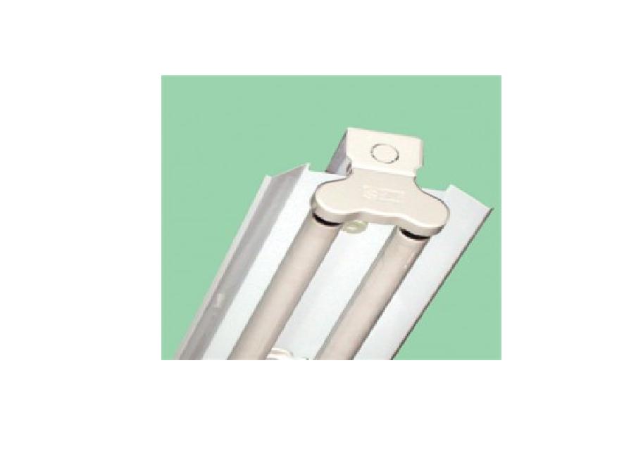 Bộ đèn huỳnh quang có phản quang hắt thẳng bản nhỏ