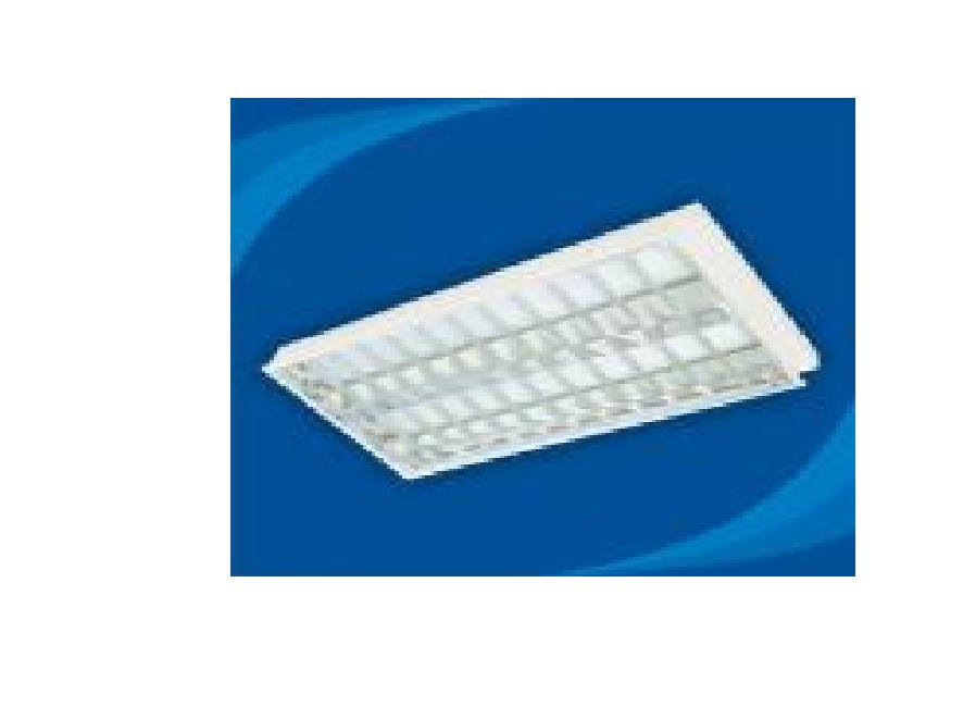 Máng đèn huỳnh quang âm trần - PRFD