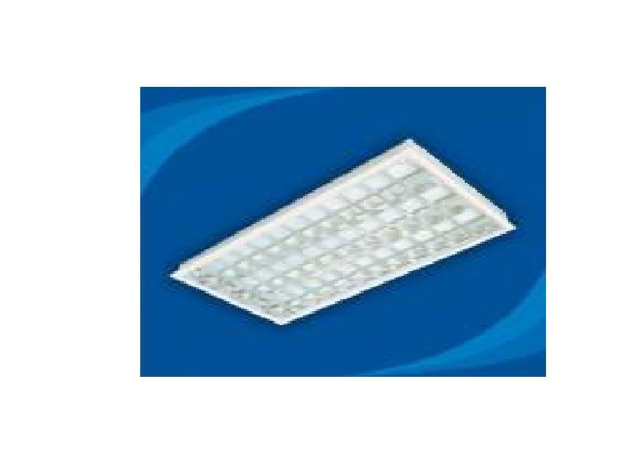 Máng đèn huỳnh quang âm trần - PRFF