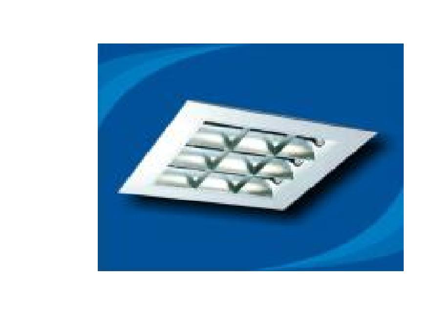 Máng đèn huỳnh quang âm trần - PRFM