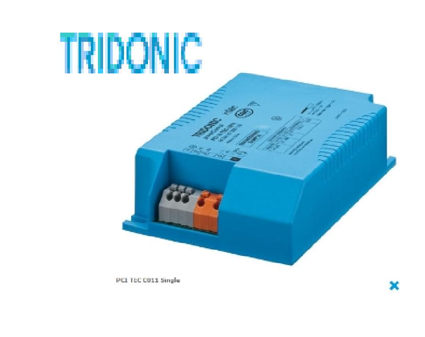 Chấn lưu điện tử cho bóng cao áp - PCI 35/70 TEC