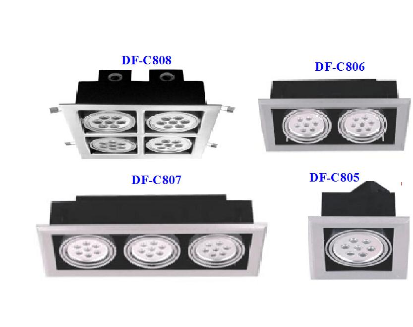 LED Downlight DF-C805/806/807/808