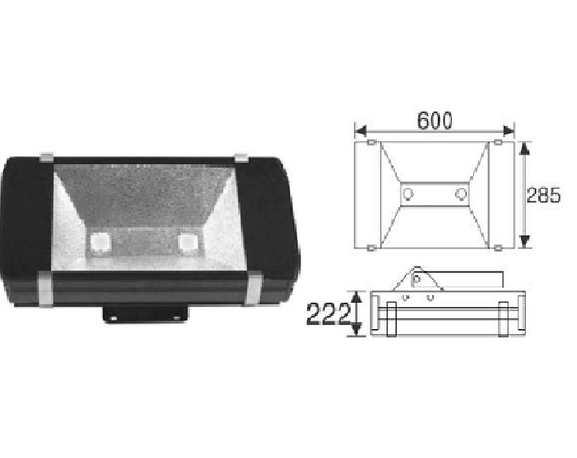 Đèn pha LED DJ-A411/412