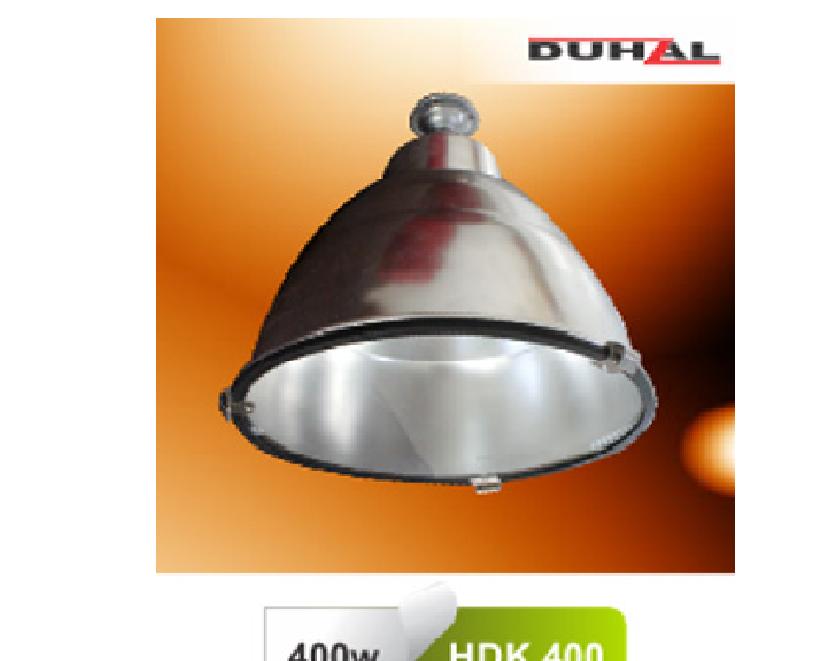 Đèn chóa công nghiệp có kiếng - HDK 400