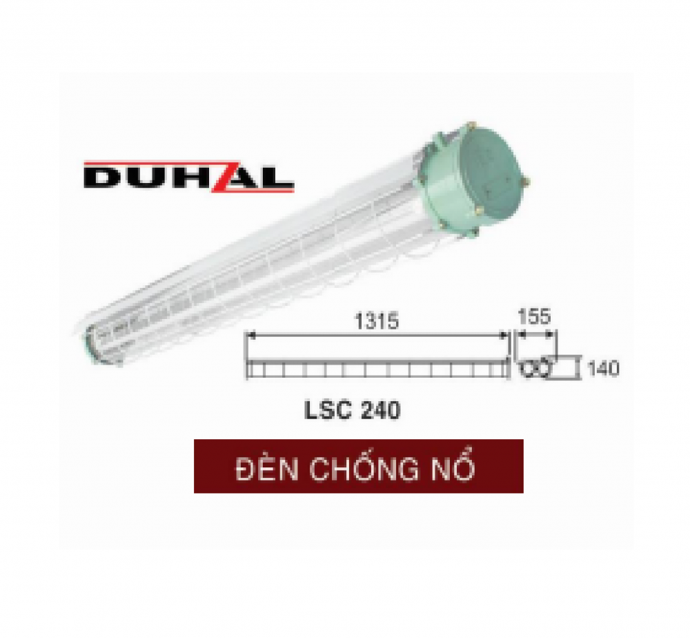 Đèn chống nổ LSC 140/LSC 240