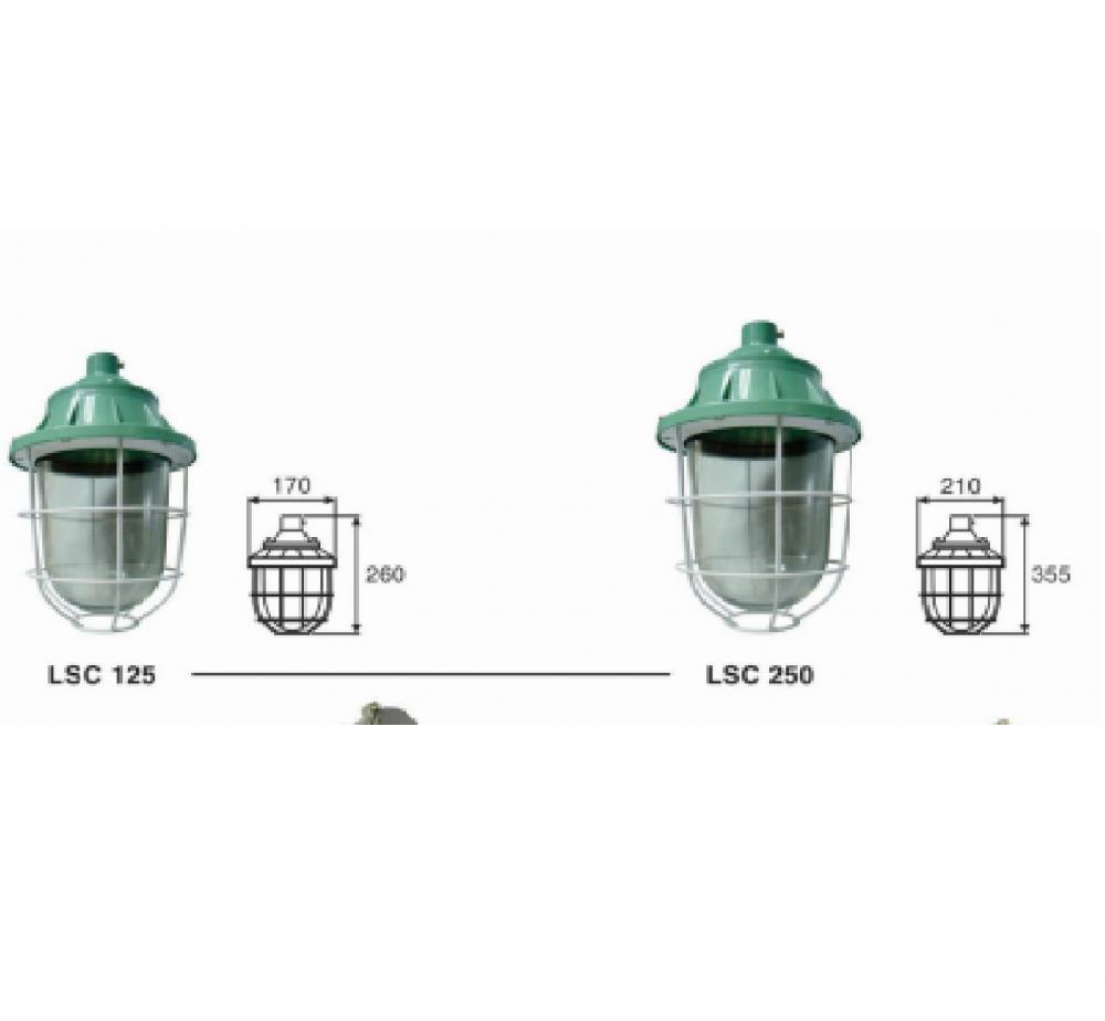 Đèn chống nổ LSC 125/ LSC 250