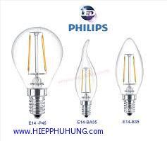 Bóng đèn LED Bulb trang trí FILAMENT Philips